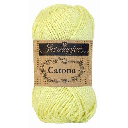 Scheepjes Catona 50 Lemon Chiffon (100)