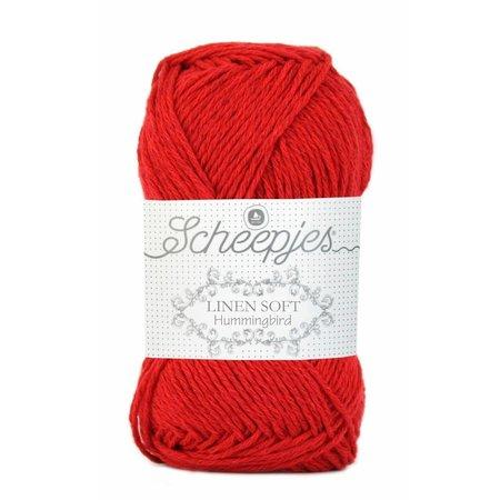 Scheepjes Linen Soft knalrood (633)