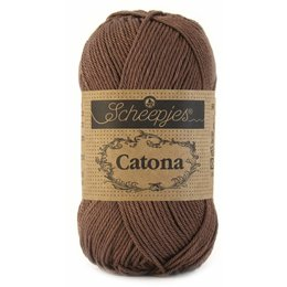 Scheepjes Catona 25 Chocolate (507)