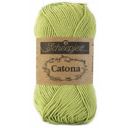 Scheepjes Catona 50 Lime (512)