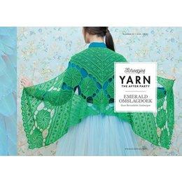 Scheepjes Yarn afterparty 03 Emerald Omslagdoek