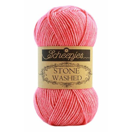 Scheepjes Stone Washed 835 Rhodochrosite