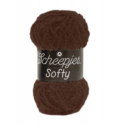 Scheepjes Softy  Donkerbruin (474)