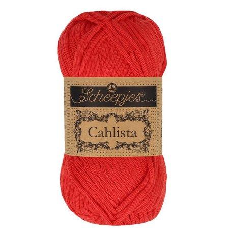 Scheepjes Cahlista Hot Red (115)