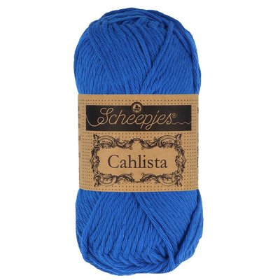 Scheepjes Cahlista Electric Blue (201)