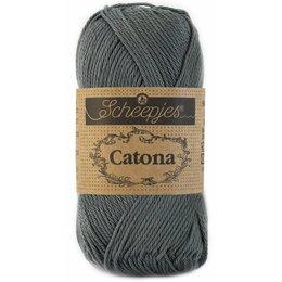 Scheepjes Catona 10 gram Anthracite (501)