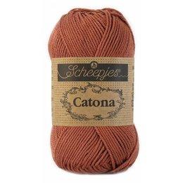 Scheepjes Catona 10 gram Brick Red (504)