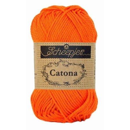 Scheepjes Catona 10 gram Royal Orange (189)