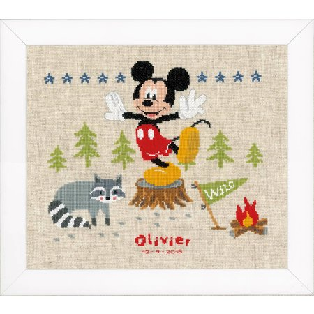 Vervaco Borduurpakket  Mickey Mouse