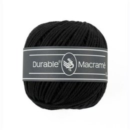 Durable Macramé Black (325)