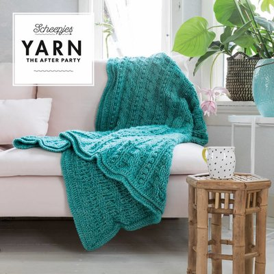 Scheepjes Yarn afterparty 24 Popcorn & Cables Blanket