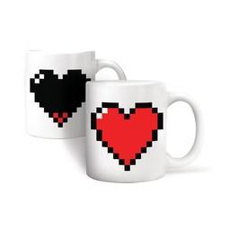 Kikkerland Morph Coffee Mug Heart