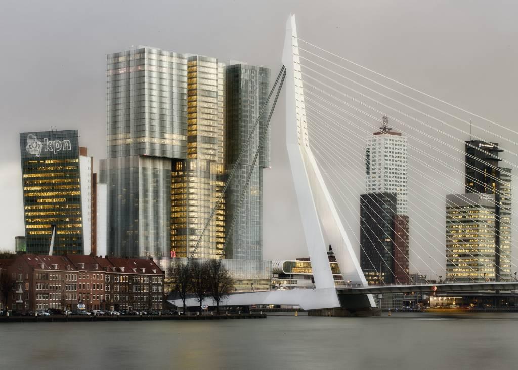 Rotterdam skyline fotografie