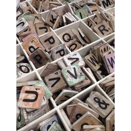 KKEC Houten Alfabet letters