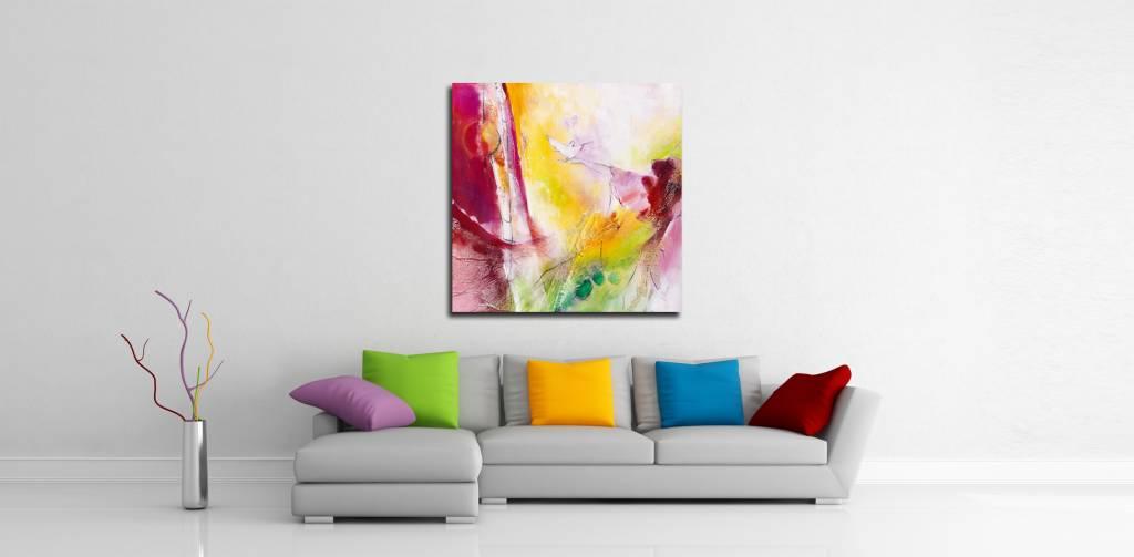 Hang uw schilderij aan uw eigen muur