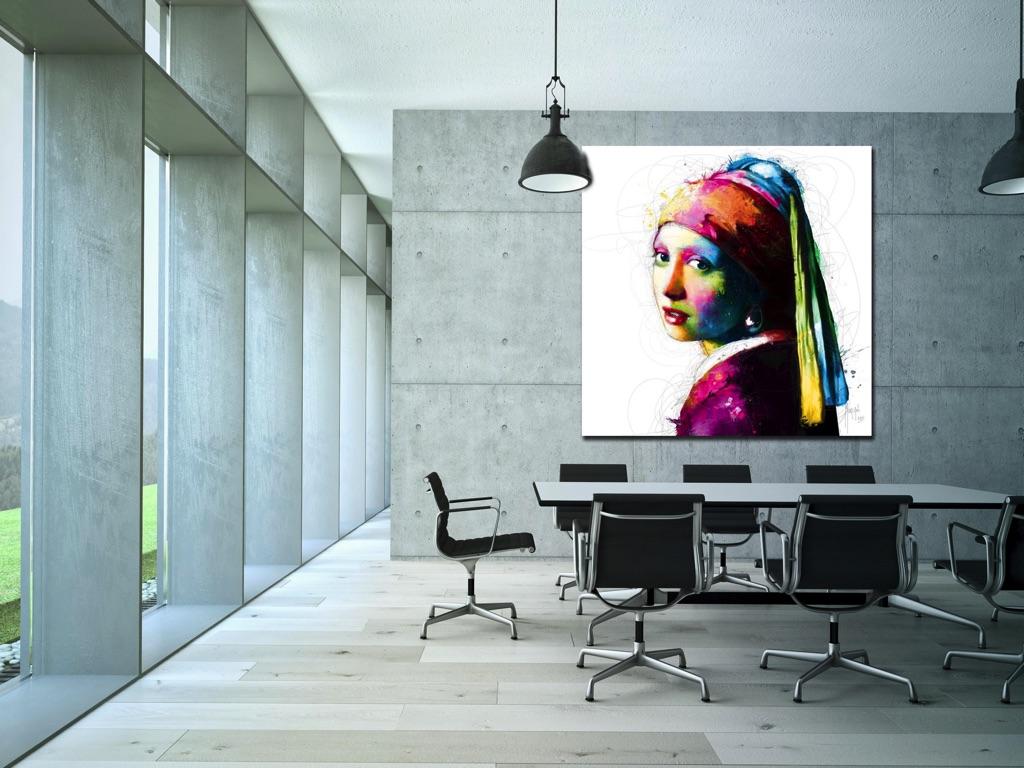 Kunst voor kantoor kkec the happy factory - Kleur schilderij gang ...