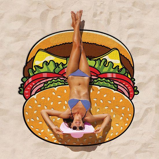 Hamburger strandlaken