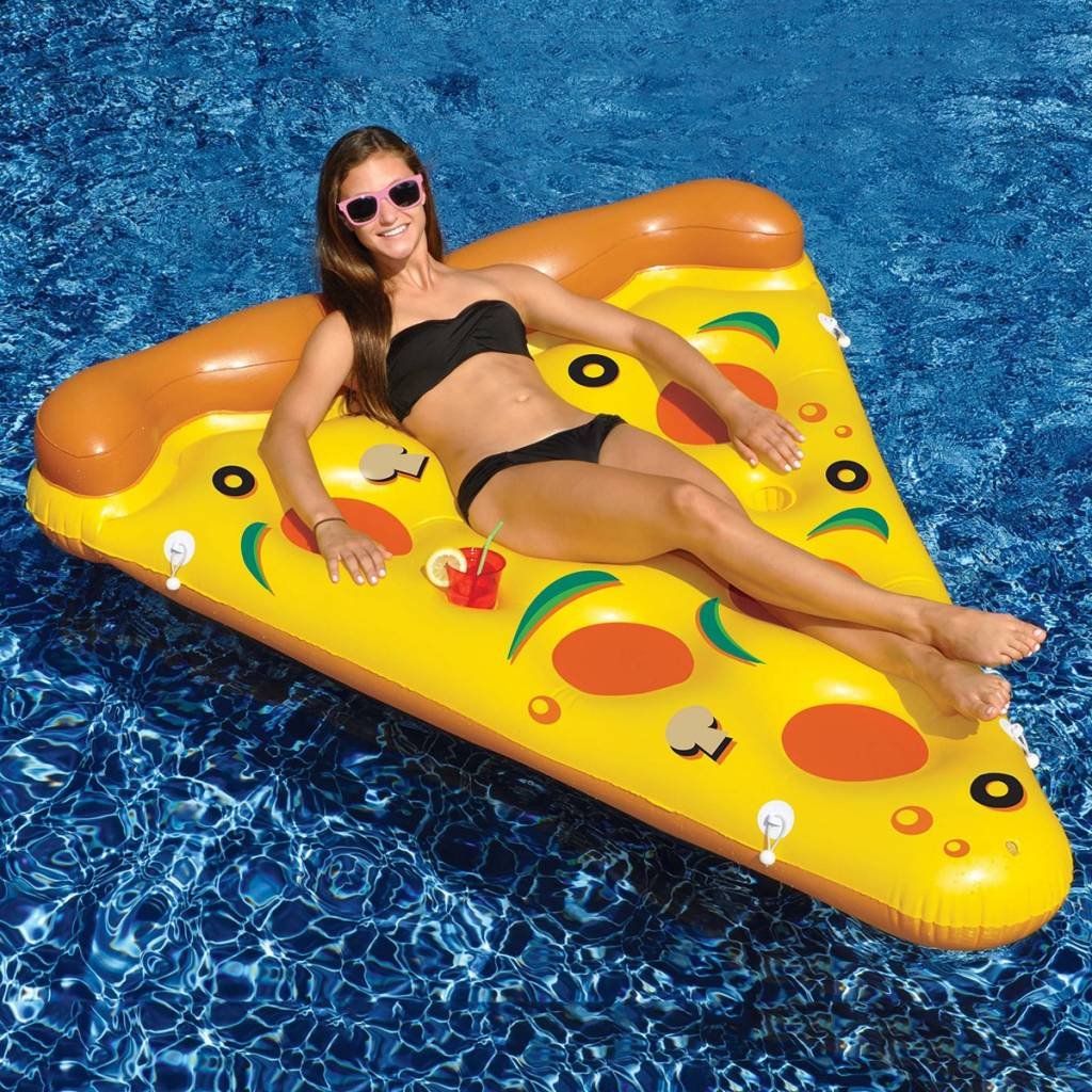 Pizza punt opblaasbaar