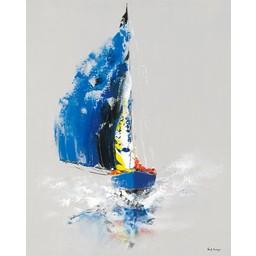 Gérard de Courcy Le Bateau Bleu