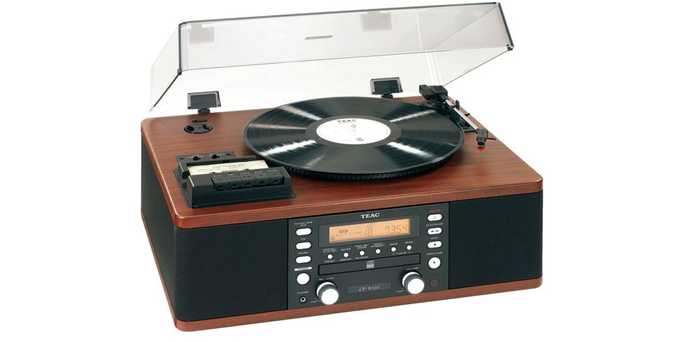 Teac LP-R500 Music Center Wood