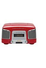 Teac SLD930 BT Retro Radio Rood