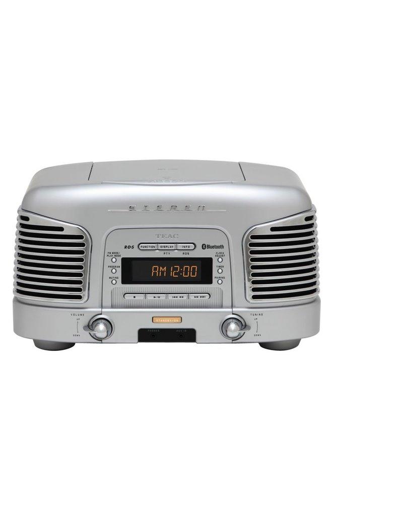 Teac SLD930 BT Retro Radio Zilver