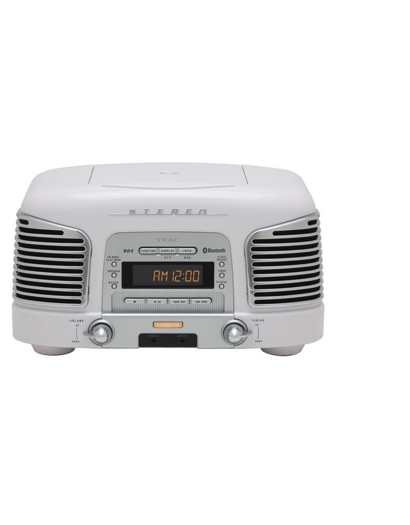 Teac SLD930 BT Retro Radio Wit