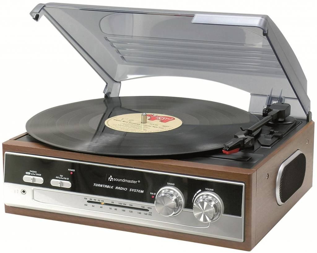 Soundmaster PL186H muziekcenter en platenspeler