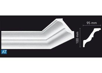 NMC Kroonlijst Nomastyl AT+ (100 x 95 mm), lengte 2 m