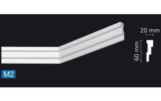 NMC Nomastyl Plus M2 (60 x 20 mm), lengte 2 m