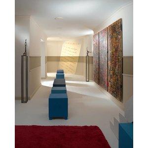 NMC Wallstyl / Floorstyl FL5 (100 x 20 mm), lengte 2 m (NMC Plint Ciro)