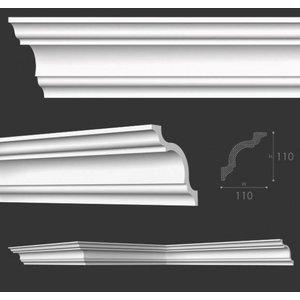 NMC Kroonlijst Nomastyl A+ (110 x 110 mm), lengte 2 m