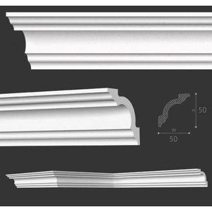 NMC Kroonlijst Nomastyl A2+ (50 x 50 mm), lengte 2 m