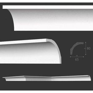 NMC Kroonlijst Nomastyl B1+ (80 x 65 mm), lengte 2 m