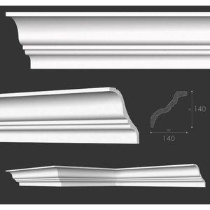 NMC Kroonlijst Nomastyl TI+ (140 x 140 mm), lengte 2 m
