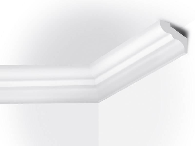 Vidella vf50 50 x 40 mm plafondlijst sierlijst lengte for Plafond sierlijst