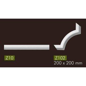 NMC Arstyl Z102 hoekbochten (200 x 200 mm), set (= 4 stuks)