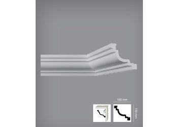 Bovelacci Italstyl IT776 (100 x 100 mm), lengte 2 m (ook voor indirecte verlichting)