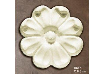Grand Decor Rozet R617 diameter 8,0 cm