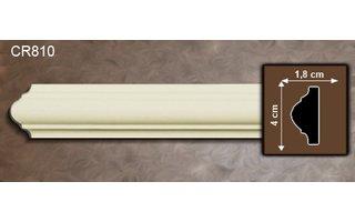 Grand Decor Kaderlijst CR810 (40 x 18 mm), polyurethaan, lengte 2 m (Z10)