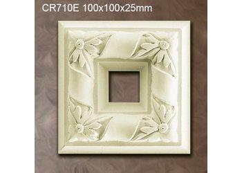 Grand Decor CR710E Ornamenten (100 x 100 mm), polyurethaan, set (4 stuks)