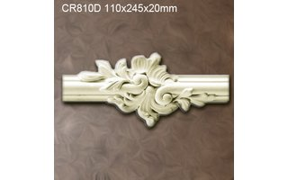 Grand Decor CR810D Sierstukjes (110 x 245 mm), polyurethaan, set (2 stuks) Z104