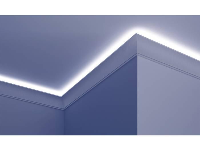 grand decor polyurethaan led sierlijst voor indirecte verlichting kf704 100 x 50 mm lengte 2 m