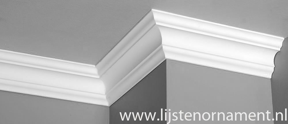 Homestar sierlijsten plafond k80 80 x 80 mm for Plafond sierlijst