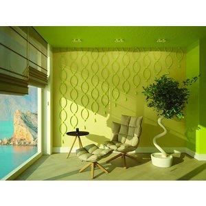 Art Décor Ornamenten A693 polyurethaan wand, plafond (set à 2 stuks)