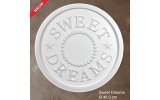 Grand Decor Rozet kinderkamer SWEET DREAMS diameter 46,0 cm