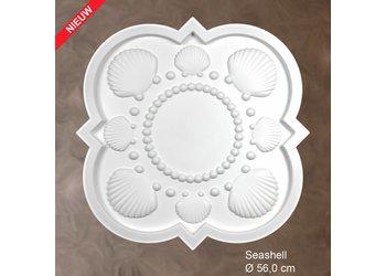 Grand Decor Rozet SEASHELL diameter 56,0 cm babykamer / kinderkamer