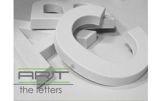 Art Décor 3D Letters Alfabet en Symbolen 20 cm hoog