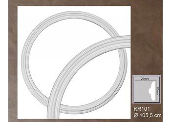 Grand Decor Rozet ring KR101 diameter 105,5 cm / 89,5 cm (4 delen)
