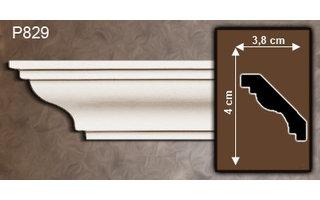 Grand Decor Kroonlijst P829 (40 x 38 mm), polyurethaan, lengte 2 m